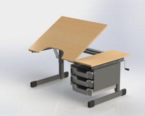 verstelbare tafel online
